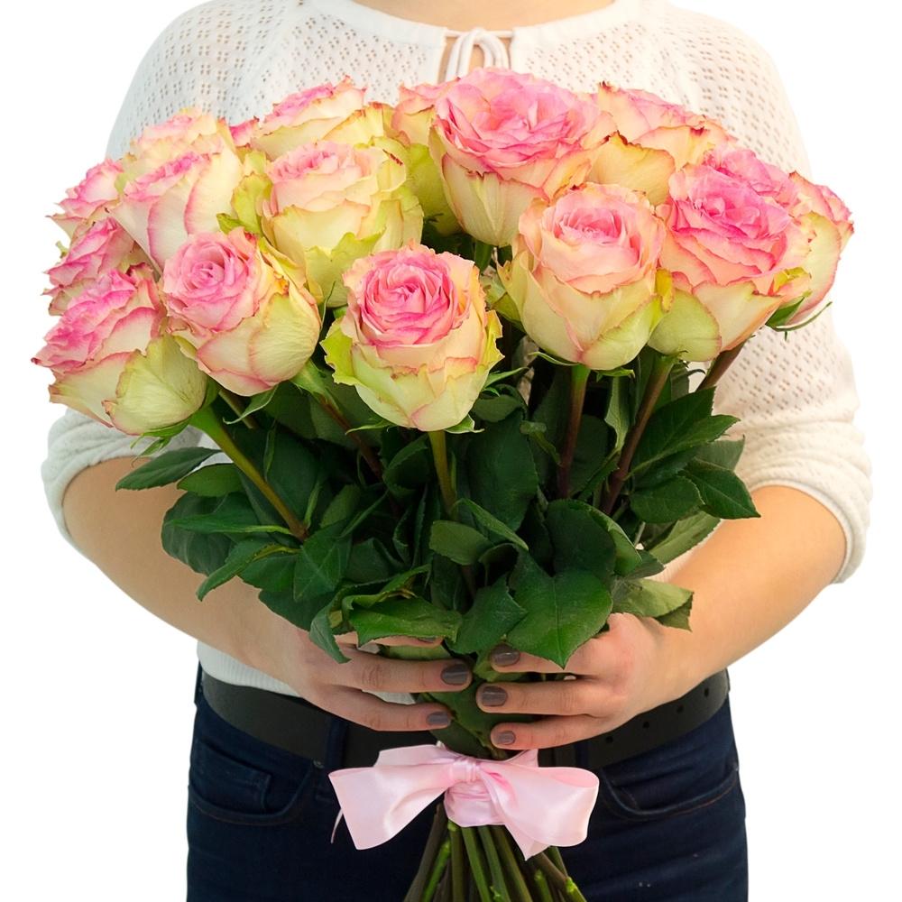 Светло-розовая роза Ensperance
