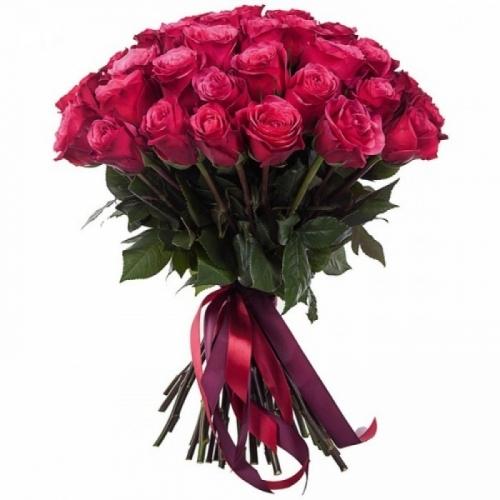 Малиновые розы Cherry Oh